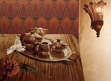 "Paula Crane ""Legacy"" Hand Signed Art Serigraph still life tea set MAKE AN OFFER!"