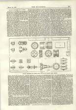 1889 Milling Machines And Cutters Belgian State Railway Mechlin