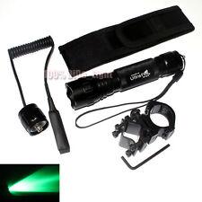 UltraFire Tactical 501B CREE Green light LED 1Mode Flashlight Holstere Mount Set