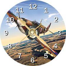 SPITFIRE avion cd horloge peut être personnalisé