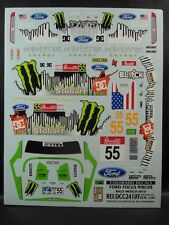 DECALS 1/24 FORD FOCUS WRC08  #55 RALLYE DE MEXICO 2010 - COLORADO  24103