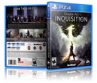 Dragon Age: Inquisition - Replacement PS4 Cover and Case. NO GAME!!