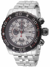 GV2 by Gevril Men's 1401B Octopus Chronograph Luminous Stainless Steel Watch