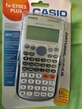 Casio FX-570ES Plus 403 Funzioni Calcolatrice Scientifica - Grigia