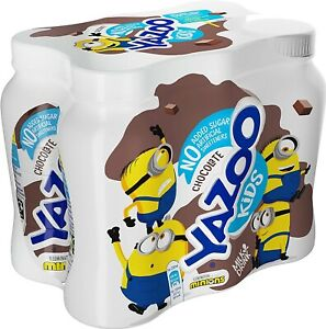 Chocolate Milk Drink Organic Sugar Rich of Protein Calcium B2, 200ml, Pack of 24