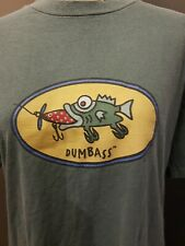 FishBoy Men's T-shirt Dumbass Medium