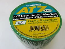 "30x AT7 Advance PVC Electrical Insulation Tape 50mm (2"") x 33m Green JOB LOT"