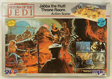 MPC Star Wars ROTJ Return of Jedi JABBA THE HUTT THRONE ROOM Action Scene MODEL