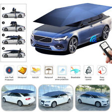 US Automatic Car Umbrella Tent Remote Control Anti UV Universal Waterproof Cover