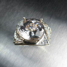 Engagement Solitaire Not Enhanced Sterling Silver Fine Rings