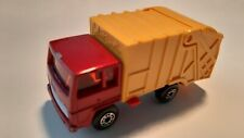 Matchbox Lesney Superfast no.36 Refuse Truck red/yellow 1979