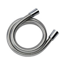 Hi Flow 12 mm Large Bore,2 Meter long Shower Stainless Steel Quality shiny hose