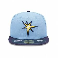 MLB Tampa Bay Rays Diamond Era Alt 59fifty Baseball Cap Carolina Blue navy  7 3 e8a4d6cb519c
