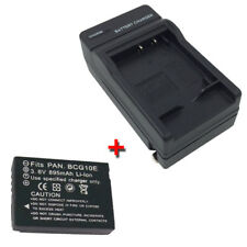 DMW-BCG10/BCG10PP Battery&Charger for PANASONIC Lumix DMC-TZ10 DMC-ZS6  DMC-ZS10