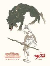 300 Movie Poster Art Print Alamo Drafthouse Mondo Frank Miller Tomer Hanuka
