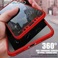 360 Full Cover Shockproof Case Cover For iPhone XR 8 7 6 6S Plus S8 S9 Plus+Film