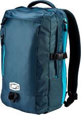 100% MX Motocross TRANSIT Backpack Gear Bag w/ Padded Laptop Pocket (Charcoal)