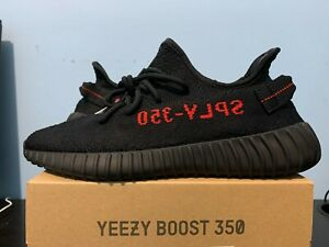 Size 9 Adidas Yeezy Boost 350 Bred
