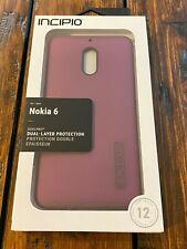 Genuine Incipio Nokia 6 Dual layer protection dual pro case RARE Brand NEW