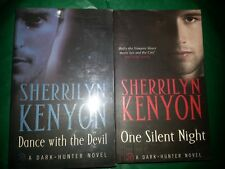 PL034 BOOKS BY SHERRILYN KENYON, DANCE WITH THE DEVIL & ONE SILENT NIGHT