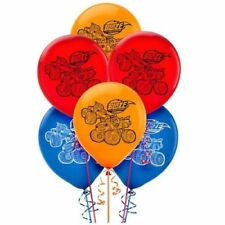 "6x 12"" Blaze and The Monster Machines Latex Birthday Party Balloons"