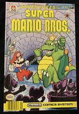 Adventures of the SUPER MARIO BROS #8, Nintendo Valiant Comics, NES, Nr-Mint