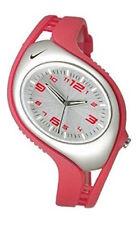 Women's Nike Triax Red Silver Analog Blaze Sport Watch WK0008-647