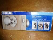 Hang Brinks Hall & Closet Southern Knob Door Handle Satin Nickel