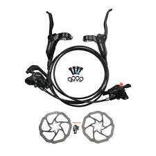 Shimano MTBBR BL M315 Hydraulic Disc Brake Set Pre-Filled With HS1 160mm Rotors