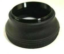 46mm threaded Rubber Lens Hood shade vintage collapsible