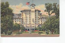 Linen Front Vista of the Broadmoor Hotel  Colorado Springs CO Colo