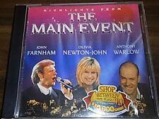 Highlights The Main Event John Farnham, Olivia Newton-John, Anthony Warlow CD