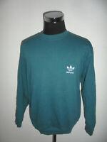 vintage 80s Adidas sweatshirt pullover 80er grün oldschool sport 90er D7 M/L