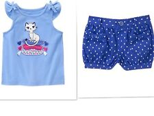 GYMBOREE DESERT DREAMS SHORTS SUMMER OUTFIT NWT  SIZE 12-18 MONTHS