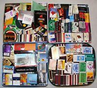 Sammlung 700 Schachteln und Briefchen Streichholz 4 kg Schachtel Sammlung