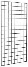 Pack of 3 Gridwall Panels 2'x5' Black color