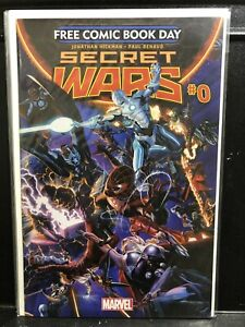 Secret Wars #0 Free Comic Book Day (2015 Series Marvel) Hickman - Shipping Deal