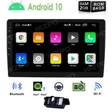 "10.1"" Car Gps 2Gb+64Gb Stereo Radio Android 10 2Din Quad-Core Pip Dab+ Universal"
