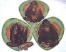 Monkeys Chimps T-Shirt Iron-On Vintage Mens Womens 70s 80s Unused Heat Transfer