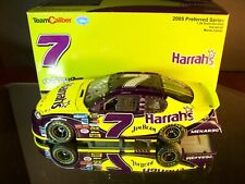 Robby Gordon #7 Harrah's Autographed 2005 Chevrolet Monte Carlo 1:24 1 of 2,400