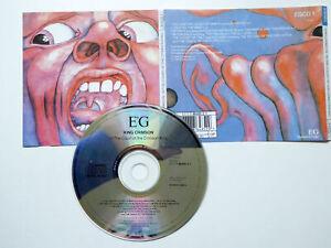 KING CRIMSON <  In The Court Of The Crimson King  > VG (CD)