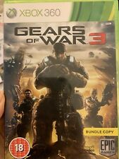 Gears Of War 3 Xbox 360 (2008) VERY GOOD + MANUAL FAST SAME DAY POST