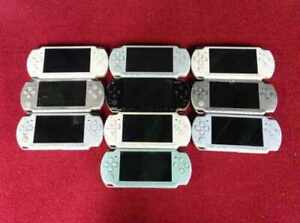 Junk Sony PLAYSTATION PSP-2000 Lot De 10 Nintendo Hasard Console Japon Vintage