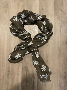 MASSIMO DUTTI MEN'S SCARF MADE IN ITALY COTTON/LINEN BRAND NEW