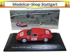 Porsche 718 GTR Coupe Class Winner Targa Florio 1962 - Spark 1:43 NEW