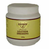 Equinade Natural Leather Dressing all Leather saddles boots hiking 400g