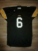 Vintage Iowa Hawkeyes #6 Football Team Game used Worn Jersey 2XL