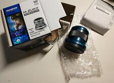 Olympus M.Zuiko Digital 45mm F1.8 Objektiv Schwarz Neu Gewährleistung bis 1.2023