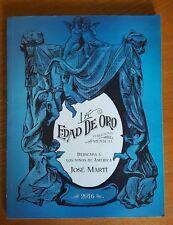 La Edad de Oro by Jose Marti Paperback Book(Spanish)(Español)