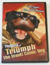 The Best Of Triumph The Insult Comic Dog DVD.  Late Night With Conan O'Brien.